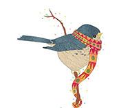 September Bird | Illustration