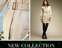 """EMAIL MARKETING TRENCH COLLECTION """"HENRY ARROWAY""""."""