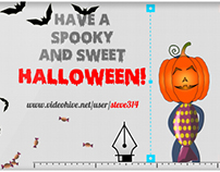 Happy Halloween Greetings - After Effects eCard project