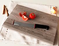 Safe-blade knife