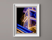 Smeared Light -- Kinetic Photography