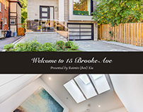 Luxury Toronto Homes - Open House Brochure