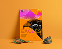 SAVE our WILDLIFE / poster design