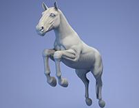 horse sculpt