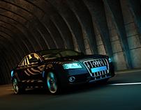 Audi Poster -3D