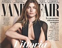 Cover story Vanity Fair Italia