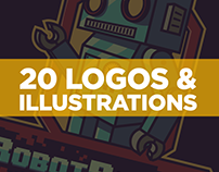 20 LOGOS & ILLUSTRATIONS