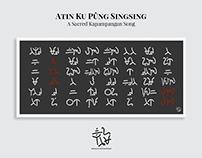 Atin Ku Pûng Singsing in Kulitan