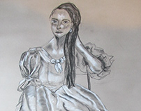 Princess Topaz- Life Drawing