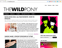 Wordpress + blogging: The Wild Pony. 2009-2012.