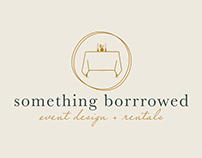 Something Borrowed Logo + Branding
