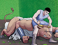 Graphic Novel | THESEUS AND THE MINOTAUR