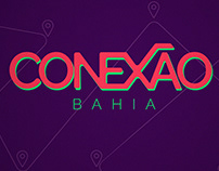 Conexão Bahia | Identidade visual e videografismo