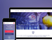 DAMSTRA - Website Re-Design