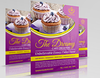 Cake Flyer Template Vol.5