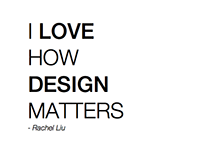 Why Design Matters...
