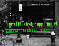 Digital Illustrator opportunity!
