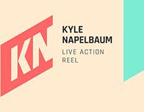 Kyle Napelbaum Live Action Reel
