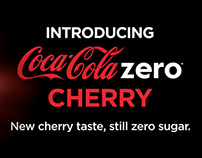 Cherry Coke Flash Banner