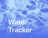 Water Tracker iOS App