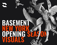 Club BASEMENT New York - Opening Season Visuals