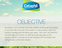 Cetaphil App idea - Skin Checking