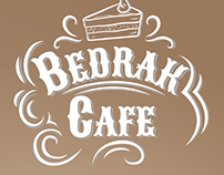 Bedrak Cafe Branding and Logo Design