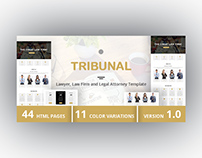 TRIBUNAL - Lawyer, Law Firm and Legal Attorney Template