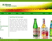 Al Ahram Beverages website