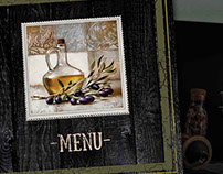 Design menu for restaurant Moscow