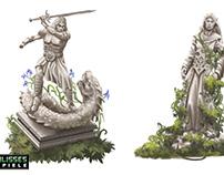 DSA Statuen