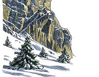 L.L. Bean Illustration