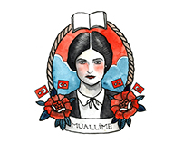 Traditional Tattoo Styled Illustrations