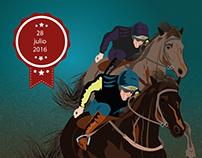 Afiche (carrera de caballos)
