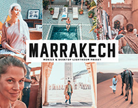 Free Marrakech Mobile & Desktop Lightroom Preset