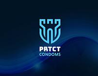 Logo Design PRTCT Condoms