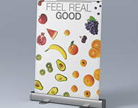 Rollup Advertising - Fadel Fruits