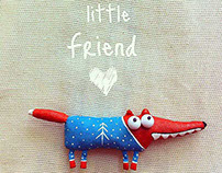 little fox (brooch)