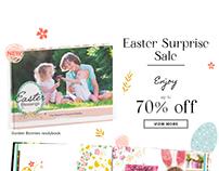 Easter emailer newsletter