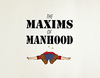 The Maxims of Manhood - title sequence