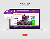 Redesign Website OLX