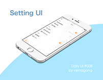 Setting #daily UI 008