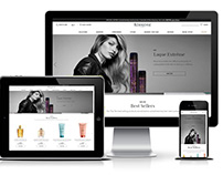 KERASTASE - Ecommerce website in Demandware