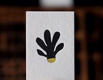 Tarjetas en Letterpress - Sacro Resto