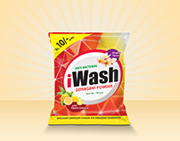 iWash Detergent - Package Design