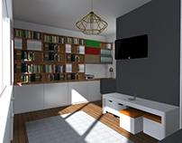 Aménagement espace travail 15m² // Office space