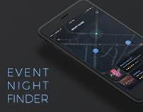 Event Night Finder app