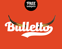 Bulletto Typeface