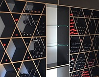 ISOVIN Black Fusion wine rack