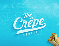 Retro Logo Design for The Crepe Co.